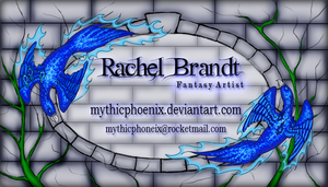 Old Business Card by MythicPhoenix