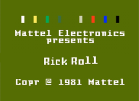 Rick Rolled from Intellivision WIP Font by marcelinedude364