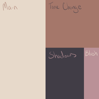 Pale Skin Color Palette by AzureDestiny