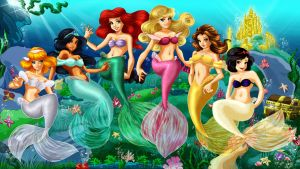 Disney Princesses by bloona
