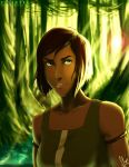 Korra in The Swamp by SolKorra