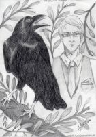 Hodge Starkweather and Hugo by SetsukoWildman