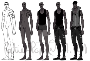 Character sheet (EMILE) by Patie-pops