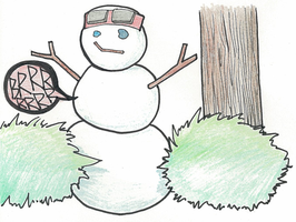 DR CTF - The Snowman by chiyokins