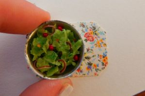 Miniature Salad by sonickingscrewdriver