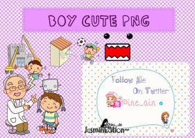 Little Boy PNG Pack [CA] by JasminEdition