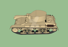 Sabaku medium tank WIP #3,2 by Erwin0859