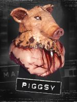 Manhunt Piggsy Bust Figure Statue 2 by Sanguinarian-Craving