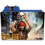 Pirates Of The Caribbean 5 Folder Icon by gterritory