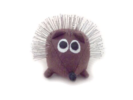 Spiky Hedgehog 1 by What-A-Stitch-Up