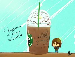 A Frappuccino is always welcome! by Thata-chann