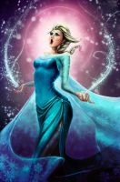 Let It Go (Elsa Fan-art) by Jesse-Dixium