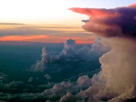Clouds_Airplane View by AdaSoysal