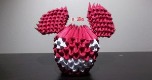 3D Origami - Deadmau5 by Jobe3DO
