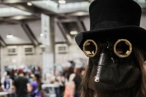 steampunk costume by NBrownPhotography