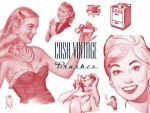 COSA VINTAGE BRUSHES by brushpsd