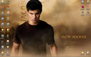 Twilight Saga: New Moon- Jacob by StarRacerEva
