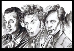 Doctor Who The Three Doctors by ShawnVanBriesen