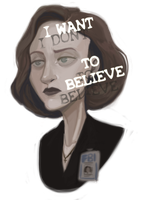 I (dont) want to believe by Super-Cute
