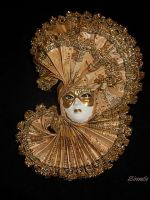 Venetian mask by sirenelle