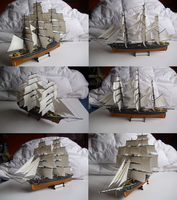 Tea clipper Cutty Sark by Teratophoneus