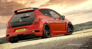 Fiat Stilo Abarth by hussain1