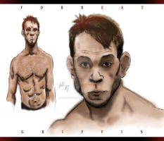 MMA Fighter Forrest Griffin by ArtisticSchmidt
