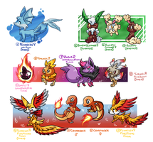 PKMNation :: cLUTCHES -CLOSED- by FENNEKlNS