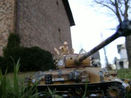Tamiya 1/35 M51 Test photoshoot 2 by DelosQAndrews