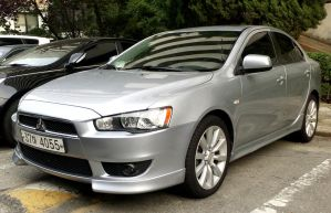 Silver Lancer RalliART by toyonda