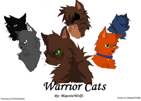Warriors 1 by MajesticWolfs