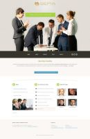 Sepia Consulting Website by balentheen