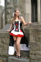 Queen of Hearts Stare by Shawn-Saylor