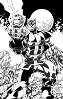 Thanos Avengrs by mlh70