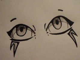 Eyes and Emotions: sketch 1 by Embers-Dragon47