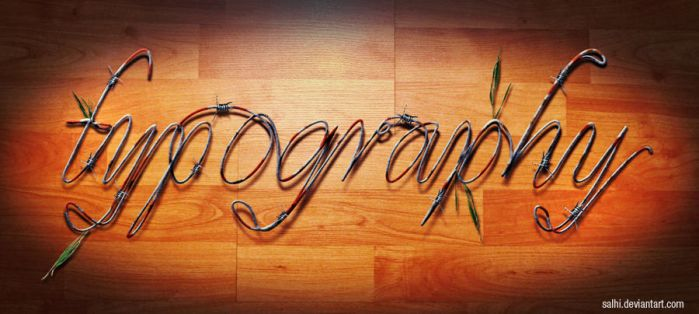 typography by salhi