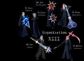 Organization XIII by Angelo-scuro