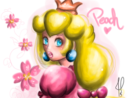 Sweet Peach moments by JamilSC11