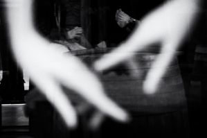 Four hands, four persons by mariomencacci