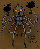 THE GREAT MECHANICAL SQUID by lysgaard