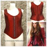 Scarlet Witch - The Corset by Stahlrose