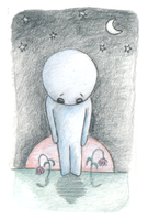 Sadness - Colored Pencil by pookstar