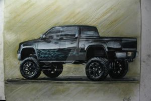 Chevy Silverado 1500 by Ness1000