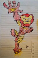 Iron Man by gravitywild