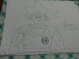 Goku by Laura-in-china