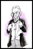 Doctor Who - William Hartnell by adamis