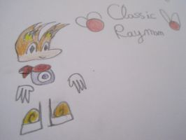 Classic Rayman by Wilfre-colour