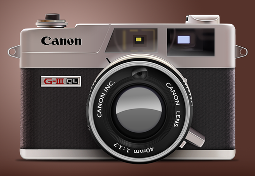 Canon G3 QL by art3h