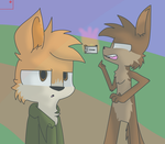 Hukley Art Trade. by DipperTyronePines