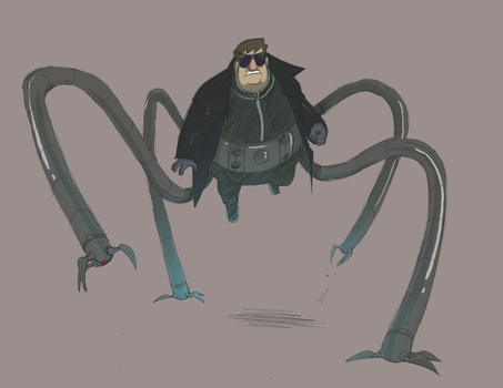 Dr Octopus by TerminAitor